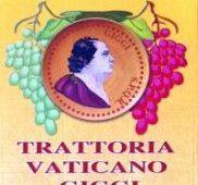 trattoria vaticano da Giggi la vera cucina Romana