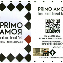 Primo amoR – B&B – zona San Giovanni 00186 Roma