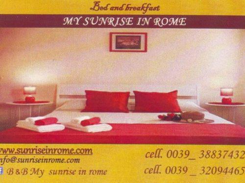 B&B MY SUNRISE IN ROME Via Appia Nuova 197 00182 Roma