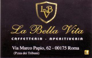 caffetteria aperitiveria Roma