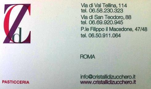 Bar Pasticceria Cristalli di Zucchero – 00186 Roma Italy
