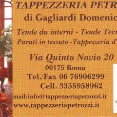 Tappezzeria Petrozzi Via Quinto Novio,20 00175 Roma