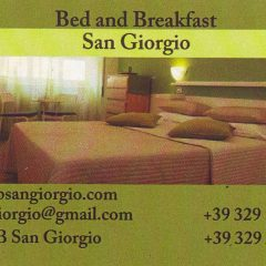 Bed and Breakfast San Giorgio Via Conegliano,9 00182 Roma