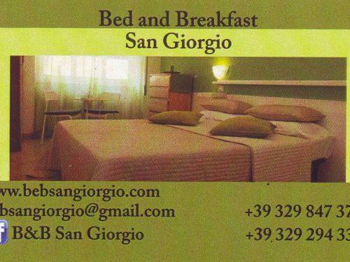 Bed and Breakfast San Giorgio Via Conegliano,9 00182 Roma