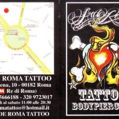 ARDE ROMA TATTOO – bodypiercing – Via Cesena,10 00182