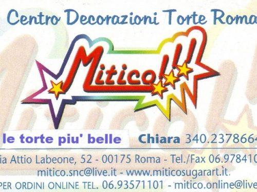 Mitico Centro Decorazioni Torte Roma Via Attio Labeone, 52 00175  Roma