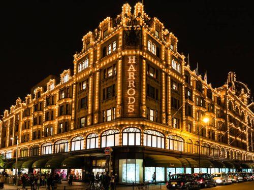 Harrods a Londra  il suo shopping esclusivo è disponibile anche su internet