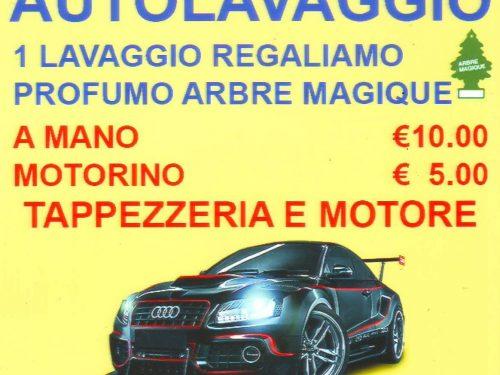 AUTOLAVAGGIO TUSCOLANO IN REGALO ARBRE MAGIQUE  Roma Italy 00175