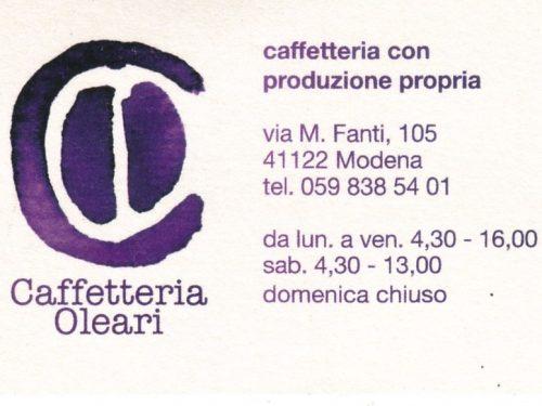 CAFFETTERIA FOCACCERIA OLEARI CON PRODUZIONE PROPIA  A  MODENA  41122