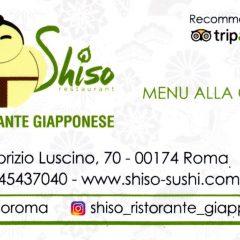 SHISO RISTORANTE GIAPPONESE  ROMA ITALY