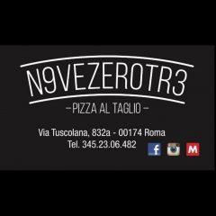 PIZZA AL TAGLIO  NOVE ZERO TRE VIA TUSCOLANA 832a 00174 Roma Italy
