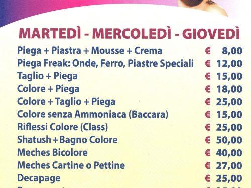 Parrucchiera – Nuovo Look Via Gaio Melisso 26 – 00175 Roma Tuscolana
