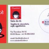 Fiordite' Sala da te' Vendita te' cioccolato caffe' oggettistica Via Tuscolana 30/32 00183 Roma