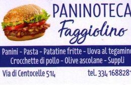 Paninoteca Faggiolino Via di Centocelle 514 00174 Roma Italy
