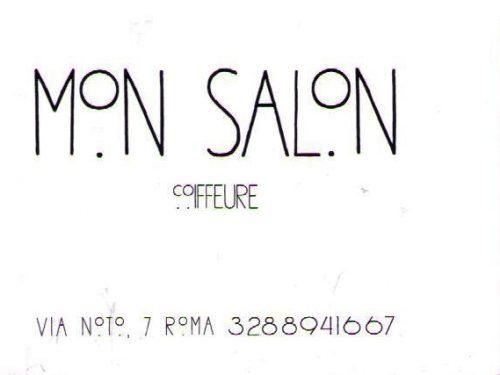 Parrucchiera MON SALON COIFFEURE  Via Noto 7,  0039 328 8941667