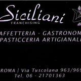 i Siciliani Franchising  CAFFETTERIA – GASTRONOMIA – PASTICCERIA ARTIGIANALE Via Tuscolana 963 00175 Roma