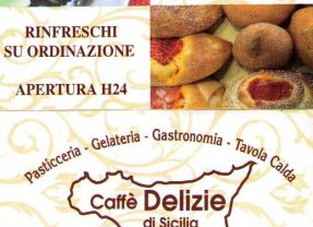 Caffe'  Delizie di Sicilia Via Tuscolana,985 – 00175 Roma