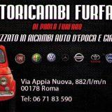 AUTORICAMBI  DI PAOLA FURFARO SPECIALIZZATO IN AUTO D'EPOCA E GIAPPONESI Via Appia Nuova ,882 00178 Roma