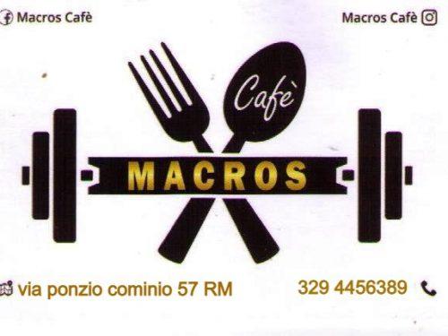 Nuova Apertura Bar Macros Via Ponzio Cominio 57 Roma